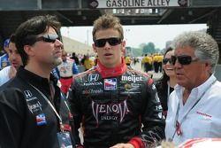 Michael Andretti, Marco Andretti et Mario Andretti