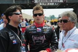 Michael Andretti, Marco Andretti y Mario Andretti