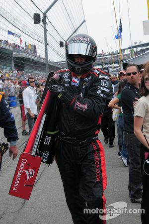 Un nez de remplacement pour Marco Andretti