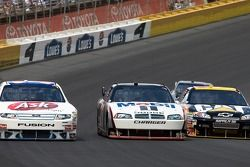 Bobby Labonte, Sam Hornish Jr. et Jeff Burton
