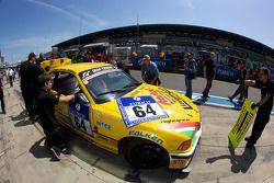 Arrêt pour #64 Superchallenge BMW M3: Roberto Ragazzi, Beppe Arlotti, Bruno Barbaro, Fabrizio Gini