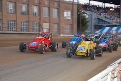 La parade pour le 55ème Hoosier Hundred