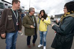 Jasmin Rubatto, Seat driver and girlfriend of Timo Scheider, Audi Sport Team Abt