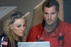 Christina Surer et Martin Tomczyk, Audi Sport Team Abt