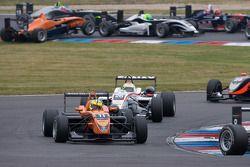 Départ : Henkie Waldschmidt, SG Formula Dallara F308 Mercedes
