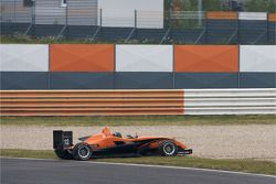 Départ : Alexande Marsoin, SG Formula Dallara F308 Mercedes abandonne