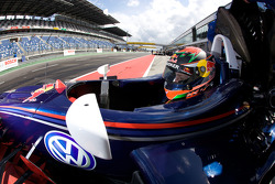 Brendon Hartley, Carlin Motorsport Dallara F308 Volkswagen