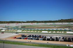 Le panorama du circuit