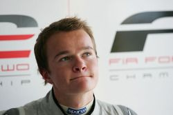 Tobias Hegewald in the post qualifying press conference