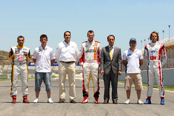 Spanish drivers from the Formula Two Championship and the WTCC