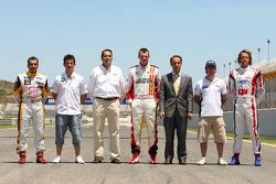 Les pilotes espagnols du championnat de F2 et du WTCC