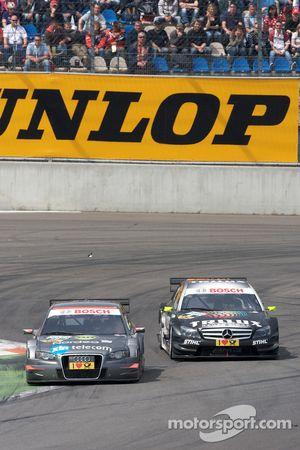 Christian Bakkerud, Kolles TME Audi A4 DTM, Ralf Schumacher, Team HWA AMG Mercedes AMG Mercedes C-Kl
