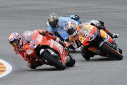 Nicky Hayden and Andrea Dovizioso