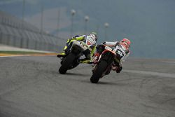 Valentino Rossi y Andrea Dovizioso