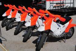Les scooters Penske
