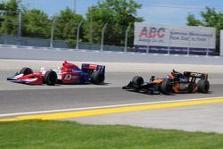 Hideki Mutoh et Danica Patrick, Andretti Green Racing