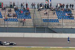 Johnny Cecotto Jr., HBR Motorsport Dallara F308 Mercedes abandonne