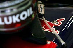 Red Bull Helmet detail