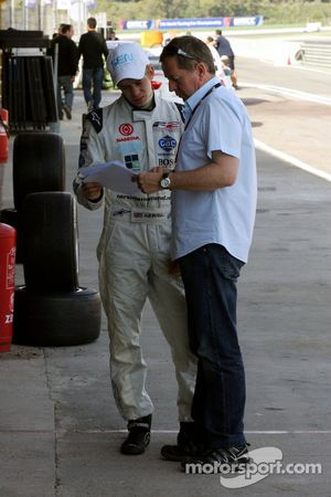 Alex Brundle talks with Martin Brundle