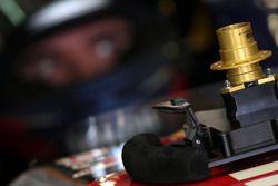 Steering wheel of Mikhail Aleshin