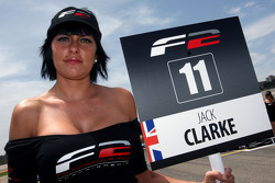Grid girl for Jack Clarke