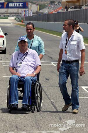 Philippe Streiff, ancien pilote de F1 sur la grille