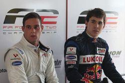 Carlos Iaconelli et Robert Wickens à la conférence de presse après la course