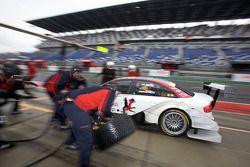 Oliver Jarvis, Audi Sport Team Phoenix Audi A4 DTM dans les stands
