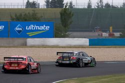 Johannes Seidlitz, Kolles TME Audi A4 DTM, Mathias Lauda, Mücke Motorsport AMG Mercedes C-Klasse