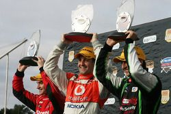Fabian Coulthard, Jamie Whincup and Will Davison