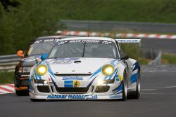 #123 Mühlner Motorsport SPRL Porsche 997 Cup S: Heinz-Josef Bermes, Oliver Kainz, Frank Schmickler,