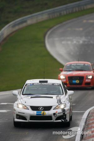 #16 Gazoo Racing Lexus IS F: Akio Toyoda, Hiromu Naruse, Minoru Takaki, Yoshinobu Katsumata