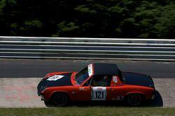 #121 Porsche 914: Ingo Krampf, Ralf Ludes, Markus Schneider
