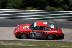 #373 Porsche 911: Hans-Christoph Schaëfer, Norbert Schaëfer