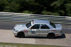 #363 Mercedes-Benz 190E: Walter Leupold, Wolfgang Hartmann