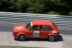 #331 Volkswagen Golf GTi: Kai Seeliger, Klaus Flint, Sebastian Flint