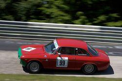 #99 Alfa Romeo GTA: Horst Baumann, Helmut Baumann, Jürgen Eckert
