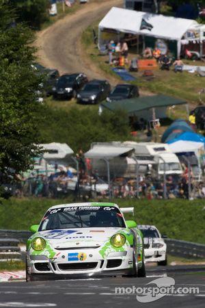 Horn Motorsport Porsche 997 GT3 Cup : David Horn, Michael Illbruck, Hans-Georg Horn, Christian Ried