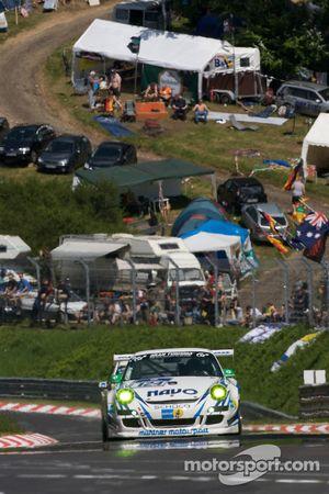 #124 Mühlner Motorsport SPRL Porsche 997 Cup S: Dieter Schornstein, Ulf Karlsson