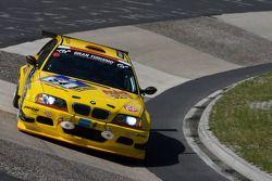 #54 MSC Rhön e.V. im AvD BMW M3: Hubert Nacken, Christian Leutheuser, Benedikt Frey