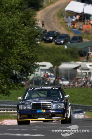 #74 Daimler Benz 190E EVO2: Thorsten Stadler, Sebastian Sauerbrei, Ernst Sinowzik