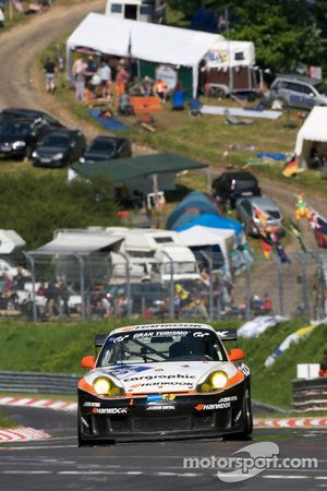 #32 Hankook-Levin Racing Team Hankook 996 RSR: Anders Levin, Martin Morin, Carl Rydquist, Peter Thelin