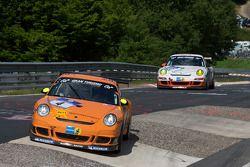 #4 Manthey Racing GmbH Porsche 911 GT3: Frank Kräling, Marc Gindorf, Peter Scharmach, Marco Holzer