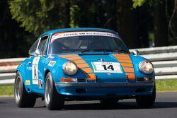 #14 Porsche 911 ST: Luke Bullitt, Klaus Graf