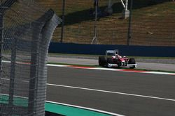 Timo Glock, Toyota F1 Team goes out, track