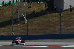 Timo Glock, Toyota F1 Team goes, track