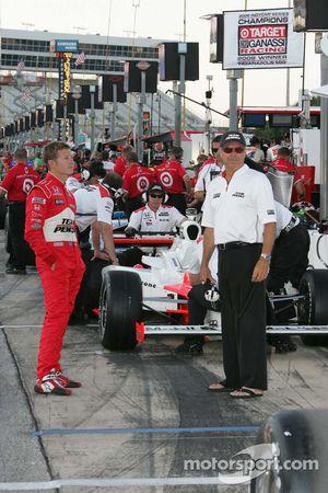Ryan Briscoe and Rick Mears, Team Penske