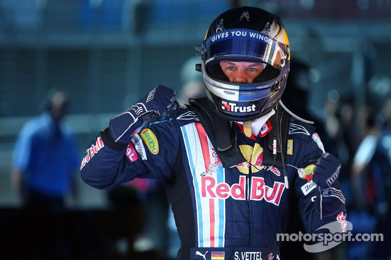 Володар поулу Себастьян Феттель, Red Bull Renault