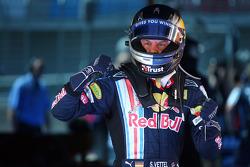 Sebastian Vettel, Red Bull Racing, logra la pole position