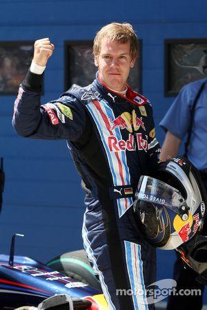 Sebastian Vettel, Red Bull Racing, Pole: